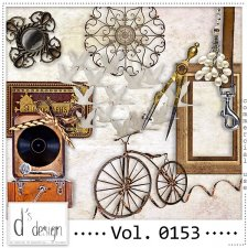 Vol. 0153 - Vintage Mix by Doudou's Design