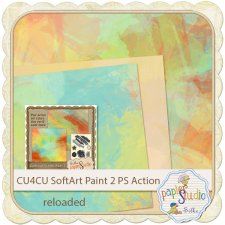 Action Soft Art 2 - Paint Strokes EXCLUSIVE by PapierStudio Silke