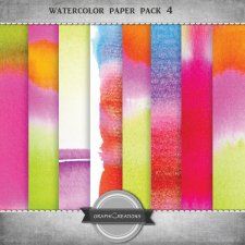 Watercolor paper pack vol4 by Graphic Creations
