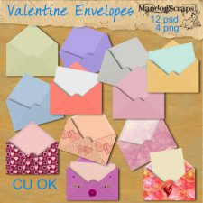 Valentine Envelopes by Mandog Scraps