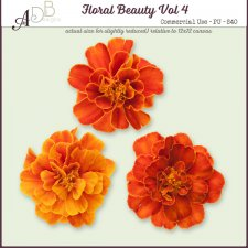 Floral Beauty Elements Vol. 04 by ADB Designs