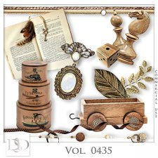 Vol. 0435 Vintage Mix by D's Design