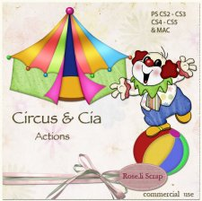 Action - Circus & Cia by Rose.li