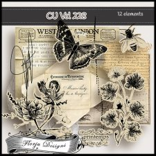 CU vol 228 Mix pack by Florju Designs