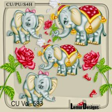 CU Vol 583 Love Valentine by Lemur Designs
