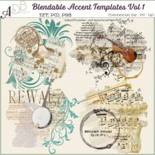 Blendable Accent Templates Vol 1 by ADB Designs