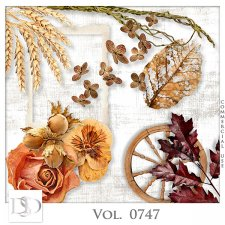 Vol. 0747 Autumn Nature Mix by D's Design