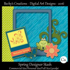 Spring Designer Stash by Beckys Creations