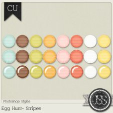 Egg Hunt Stripes PS Styles by Just So Scrappy