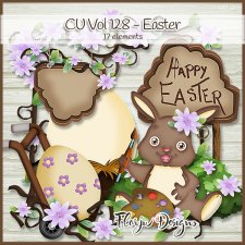 CU vol 128 Easter by Florju Designs