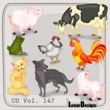 Animals Pack 11 by Lemur Designs