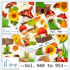 Vol. 949 to 953 by Doudou Design