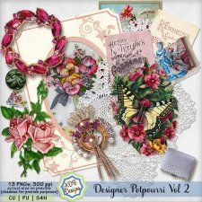 Designer Elements Potpourri Vol 02 by ADB Designs