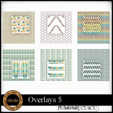 Overlays 5 CU4CU by Happy Scrap Art