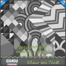 Fun Overlays CU4CU by Scrap and Tubes