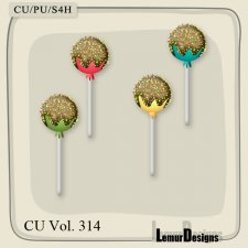 CU Vol 314 Lolli pop by Lemur Designs