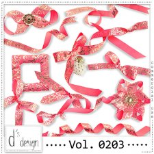 Vol. 0203 - Ribbons Mix by Doudou's Design