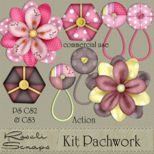 Action - Patchwork Action Kit by Rose.li