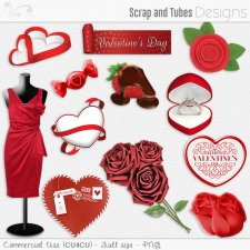 Valentine Elements 8 (CU4CU) by Scrap and Tubes