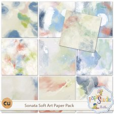 Sonata Soft Art Paper Pack EXCLUSIVE by PapierStudio Silke