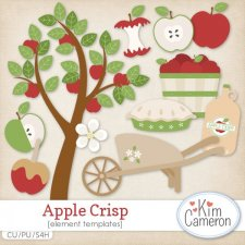 Apple Crisp Templates by Kim Cameron