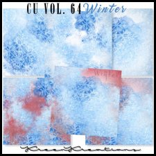 CU Vol. 64 Papers Pack Winter by Kreen Kreations