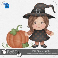 Good Witch Layered Template by Peek a Boo Designs