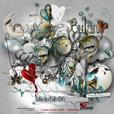 Collections Vol 25 - Elements by Eirene Designs