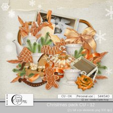 Christmas pack - CU 12 by Cajoline-Scrap