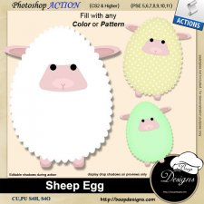 Sheep Egg by Boop Designs