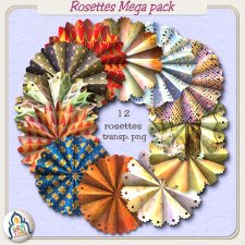 Rosettes Mega Pack by Benthaicreations