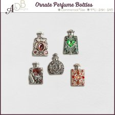 Ornate Perfume Bottles Elements by ADB Designs