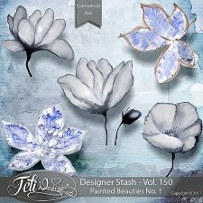 Designer Stash Vol. 150 - Painted Beauties No. 1 by Feli Designs
