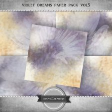 Violet dreams paper pack vol5 by Graphic Creations