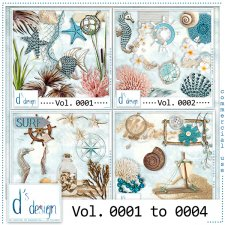Vol. 0001 to 0004 - Beach Mix by Doudou's Design