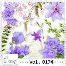 Vol. 0174 Spring Nature Mix by Doudou Design