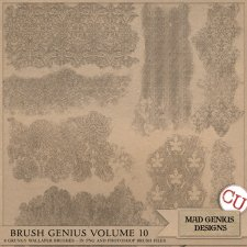 Brush Genius Volume Ten by Mad Genius Designs
