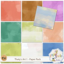 Thaty's Art 1 Papers EXCLUSIVE by PapierStudio Silke