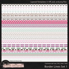 EXCLUSIVE Borderlines Set 3 by NewE Designz