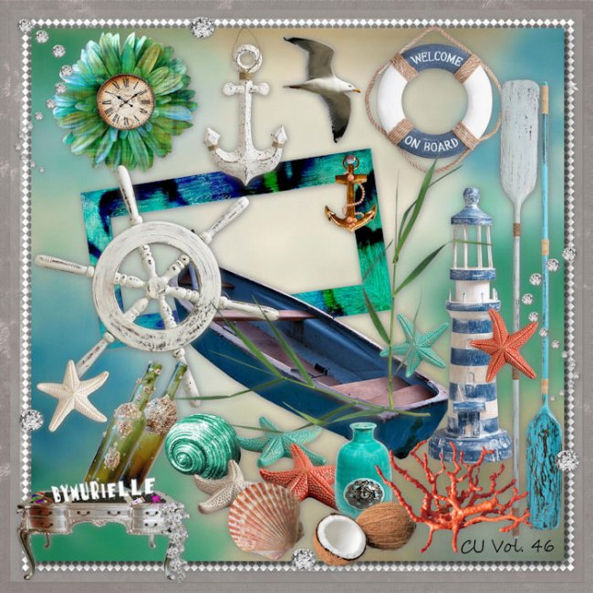 VOL 46 Sea elements EXCLUSIVE byMurielle