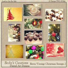 Christmas Restro/Vintage Stamps 02-FS-Cu4Cu-PNG-Beckys Creations