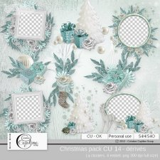 Christmas pack CU 14 - derivative by Cajoline-Scrap