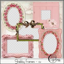 Shabby frames CU by Cajoline-Scrap
