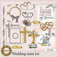 EXCLUSIVE Wedding minikit by Happy Scrap Arts