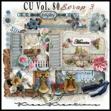 CU Vol. 80 Scrap Element Mix 3 by Kreen Kreations