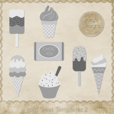 Iced Treat Layered Templates 2 by Josy