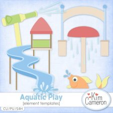 Aquatic Play Templates by Kim Cameron