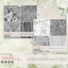Impressions Overlays Duet by SnickerdoodleDesigns
