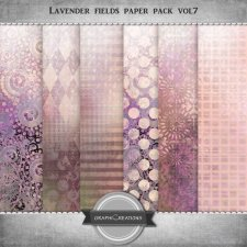 Lavender fields EXCLUSIVE Paper pack vol7