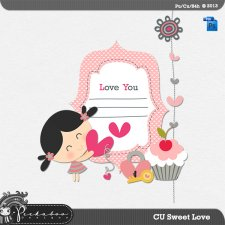 Sweet Love Layered Template by Peek a Boo Designs